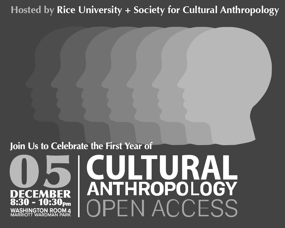 Print Design - Cultural Anthropology Conference Poster